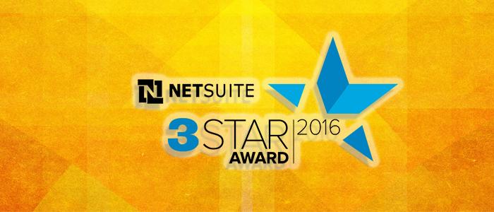 Big Bang ERP Receives NetSuite 3-Star Award
