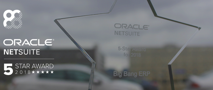Big Bang ERP announces NetSuite 5-Star Partner Status