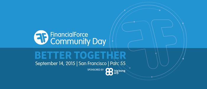 FinancialForce Community Day – Dreamforce 2015