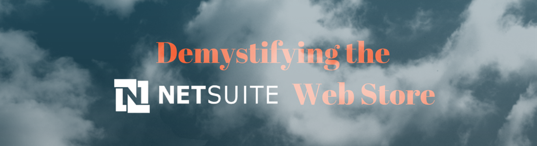 Demystifying the NetSuite Web Store