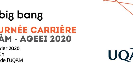Big Bang | Journée carrière AGEEI 2020