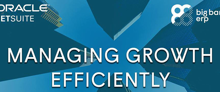 Managing Growth Efficiently Event