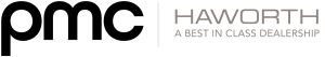 PMC haworth interiors logo