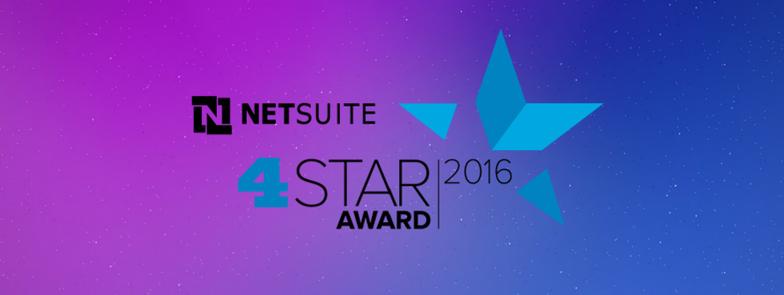 Big Bang ERP Receives the NetSuite 4-Star Award