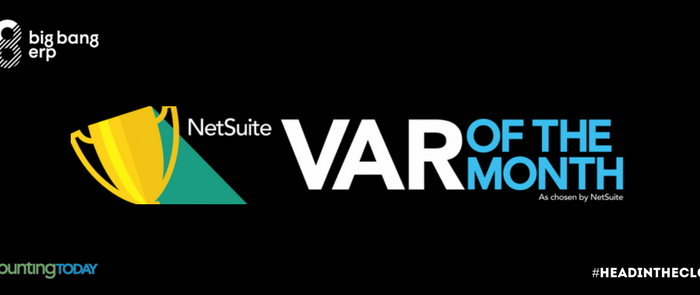 Big Bang ERP Named NetSuite's July VAR of the Month