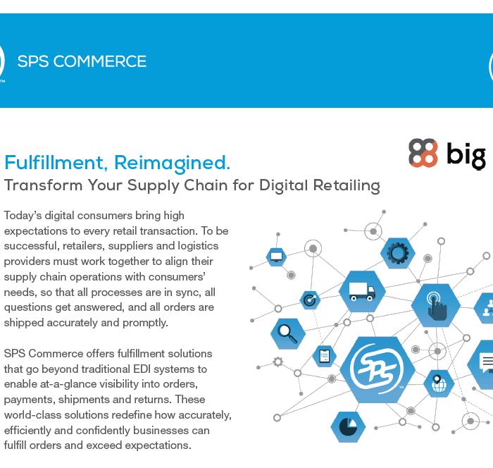 SPS Commerce: Fulfillment, Reimagined Data Sheet