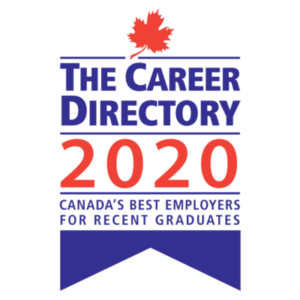 Big Bang is one of Canada's Best Employers for Recent Grads in The Career Directory 2020