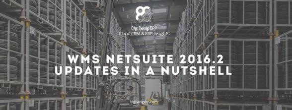 WMS NetSuite 2016.2