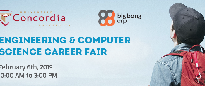 Big Bang ERP | Engineering and Computer Science Career Fair – Winter 2019