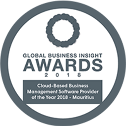 Cloud-Based Business Management Software Provider Of The Year 2018 – Mauritius
