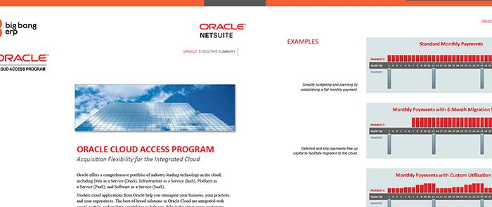 Oracle Cloud Access Program