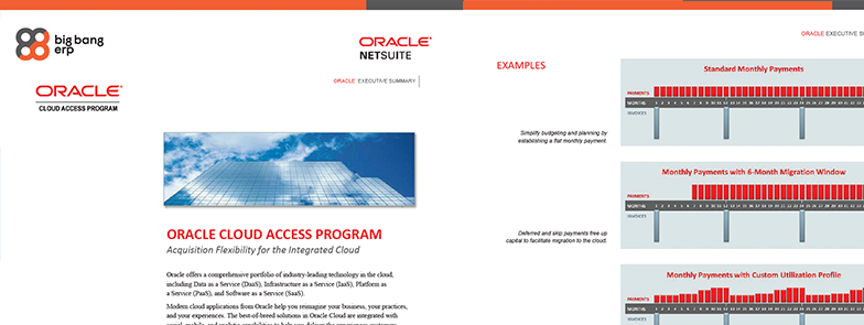 Oracle Cloud Access Program