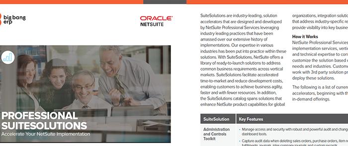 NetSuite: Professional SuiteSolutions
