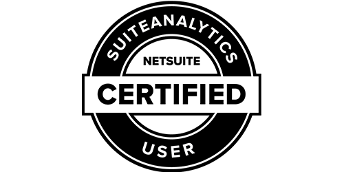 NetSuite SuiteAnalytics User