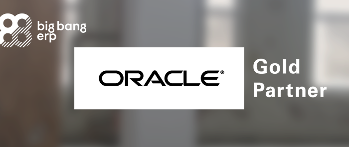 Big Bang ERP becomes an Oracle Gold Partner