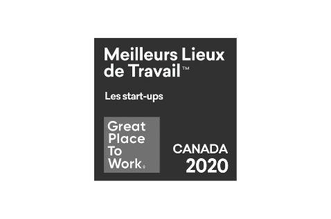 2020 Meilleurs Lieux de travail start-ups