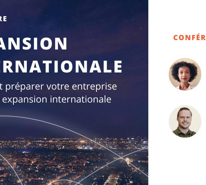 [Webinaire] Expansion internationale: La manière dont votre organisation peut prospérer malgré un contexte d'incertitude