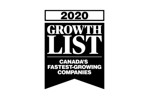 2020 Growth List Accolade