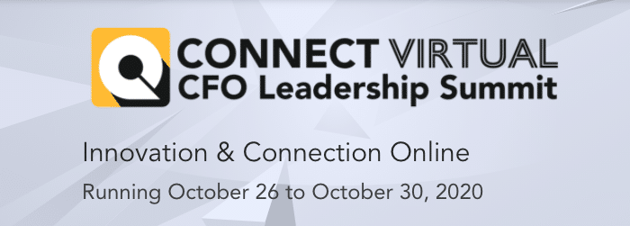 Connect CFO Virtual Leadership Summit 2020