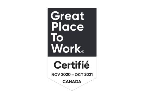 Big Bang certifiée au titre des Meilleurs lieux de travail™