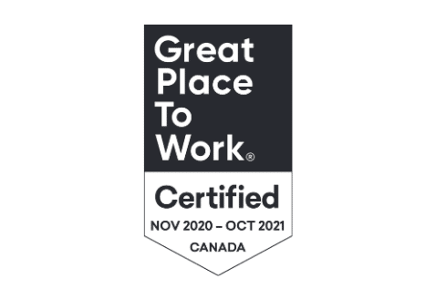 Big Bang Certified as a Great Place to Work®