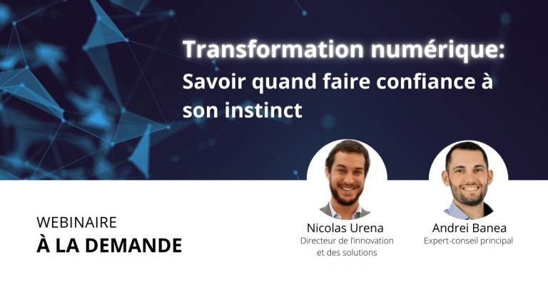 Webinaire à la Demande – Transformation numérique