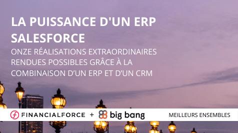 La puissance d'un ERP Salesforce