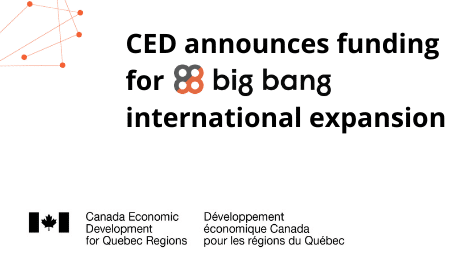 CED announces funding for Big Bang's international expansion