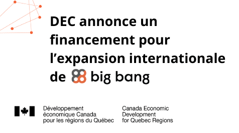 DEC annonce un financement pour l'expansion internationale de Big Bang