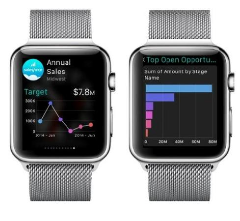 Salesforce-Apple-Watch