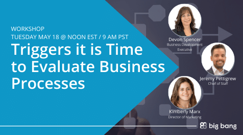 [Workshop] Triggers it is Time to Evaluate Business Processes