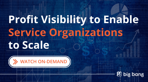 On-Demand: Profit Visibility to Enable Service Organizations to Scale
