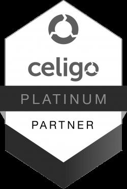 celigo platinum partner badge