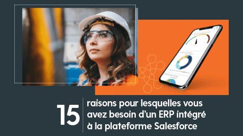15 raisons de choisir un ERP intégré à la plateforme Salesforce