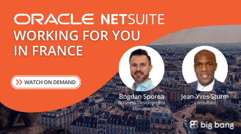 On-Demand: NetSuite Working for You in France