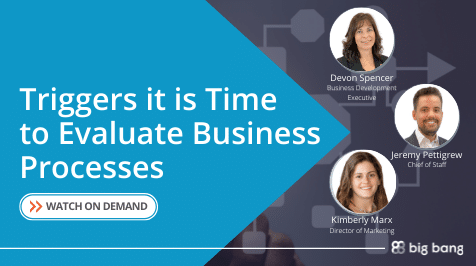 On-Demand: Triggers it is Time to Evaluate Business Processes