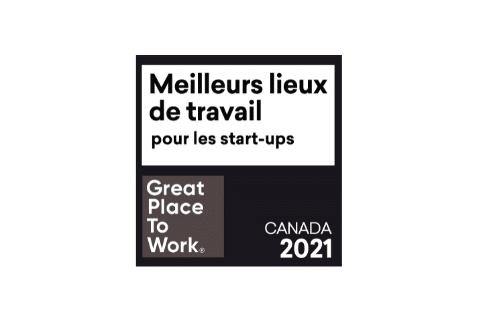 Meilleurs lieux de travail™ —Start-Ups 2021