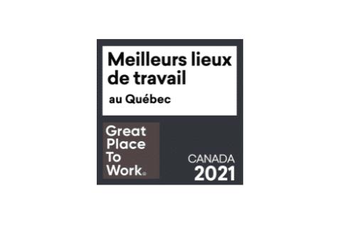 Meilleurs lieux de travail™ —Québec 2021