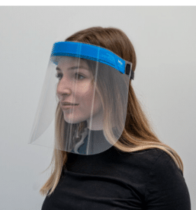 MP Repro_Woman with Face Shield