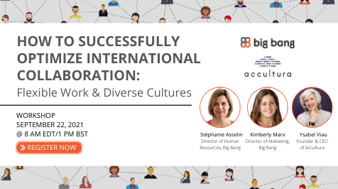 [Workshop] How to Successfully Optimize International Collaboration: Flexible Work & Diverse Cultures