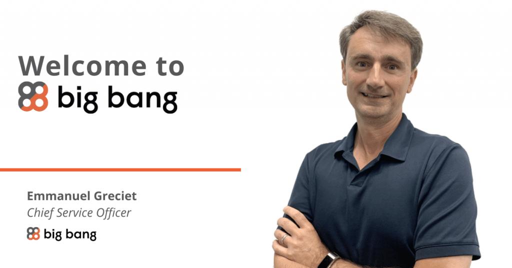 Big Bang welcomes new CSO
