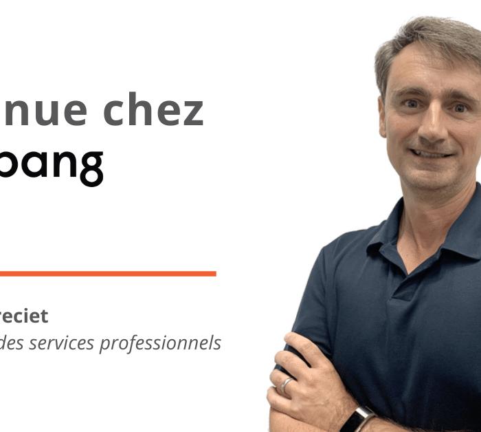 Big Bang nomme Emmanuel Greciet en tant que nouveau Vice-président, Services professionnels